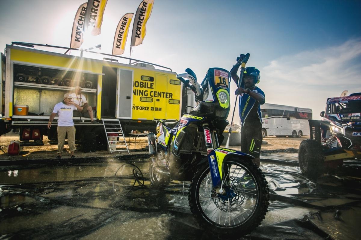Kärcher po raz dziewiąty wesprze kierowców Dakaru
