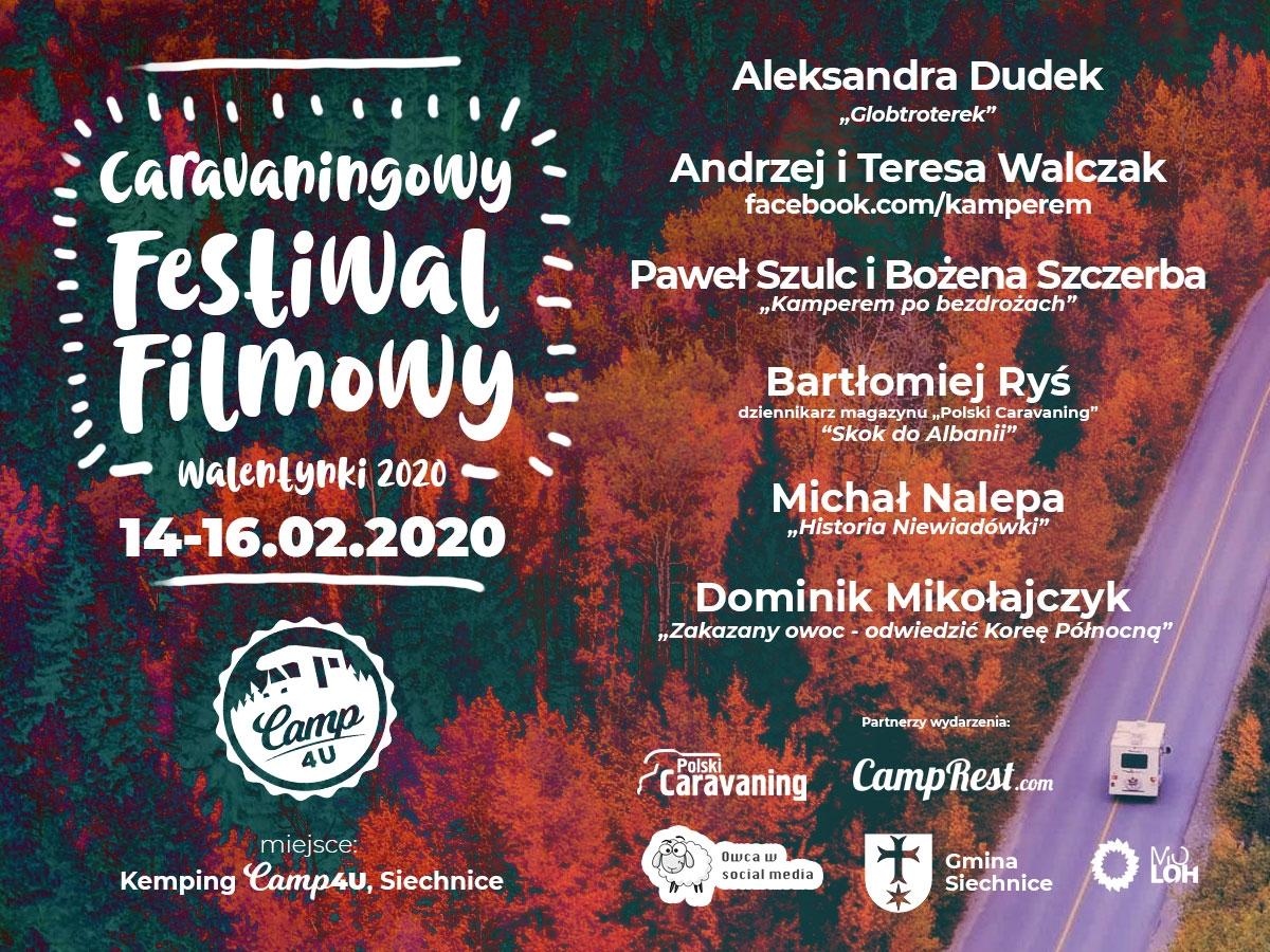 Walentynkowo-Caravaningowy Festiwal Podróżniczy - zobacz program