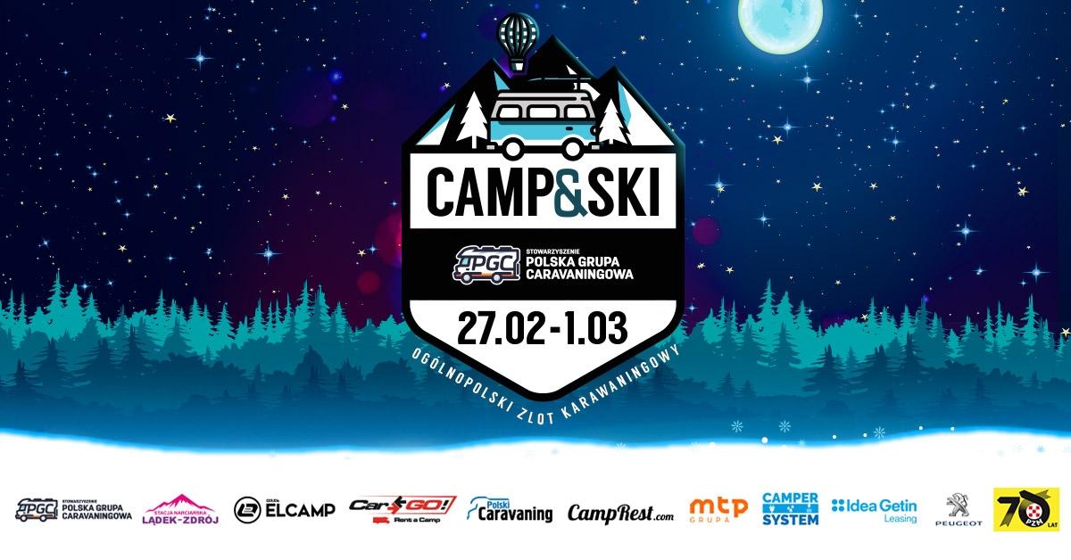 Jużw następny weekend zlot Camp&Ski. Zobacz program