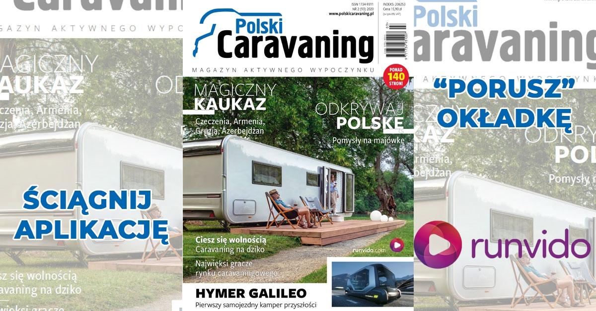 Ponad 140 stron w nowym numerze Polskiego Caravaningu