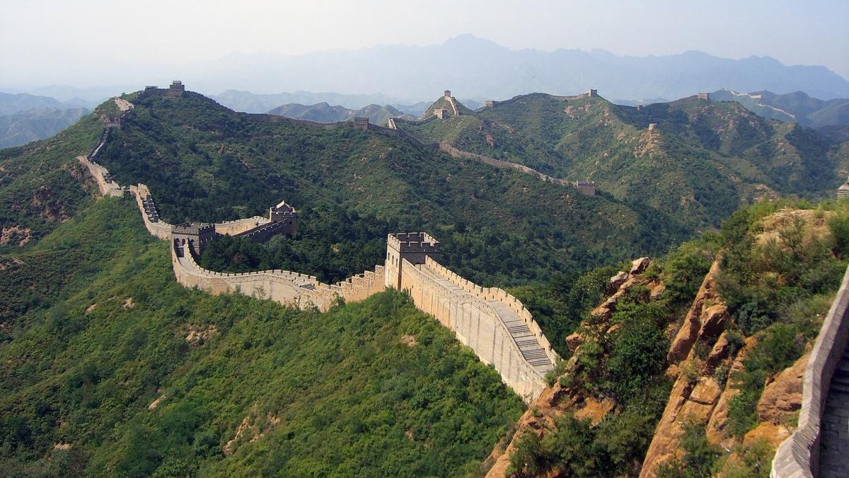 Na razie otwarto zaledwie fragment Wielkiego Muru Chińskiego.