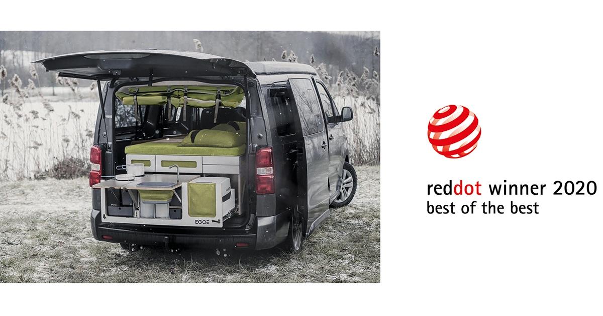 Nagroda Red Dot: Best of the Best dla zestawu Egoé Nestbox