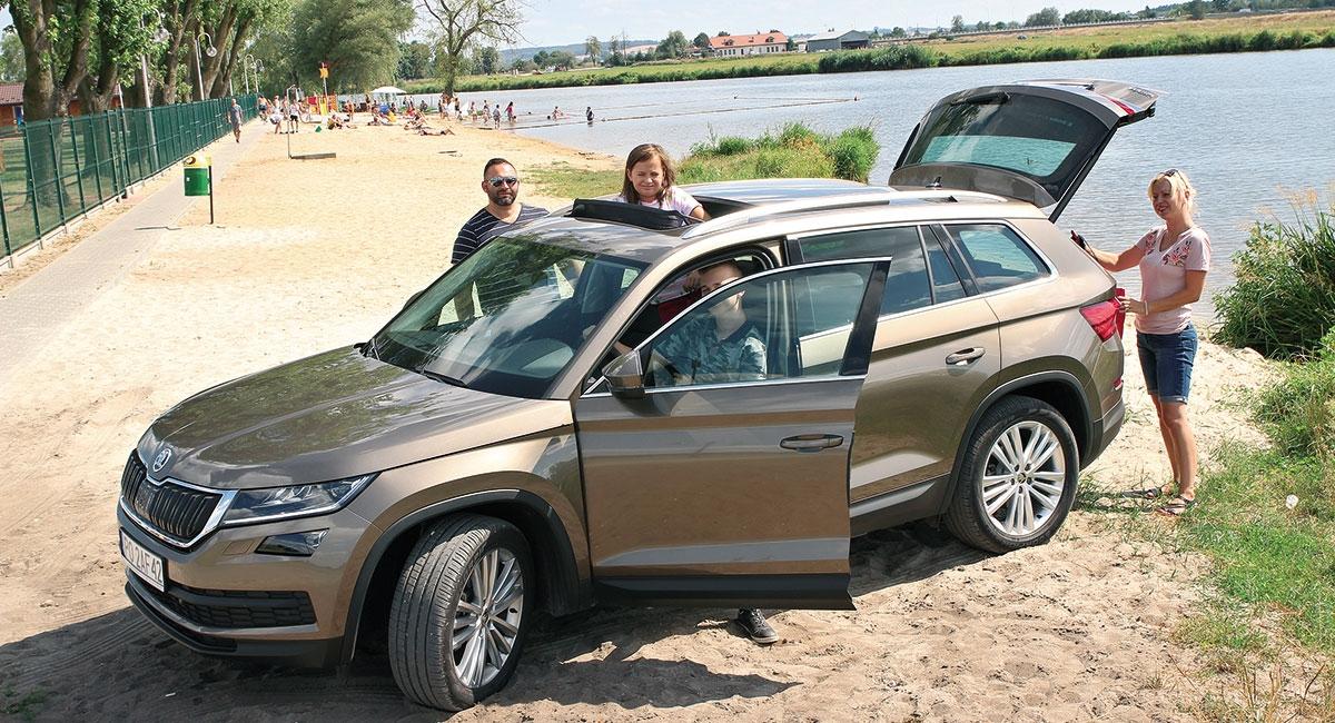 Największy model Škody zwie się Kodiaq ima wielkie szanse uwieść klientelę oczekującą czegoś więcej od rodzinnego SUV-a