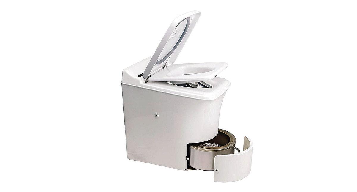 Cinderalla - higieniczna i mobilna toaleta w kamperze