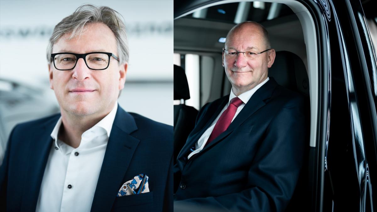 Po lewej: Dietmar Mnich, po prawej: Jens Ocksen