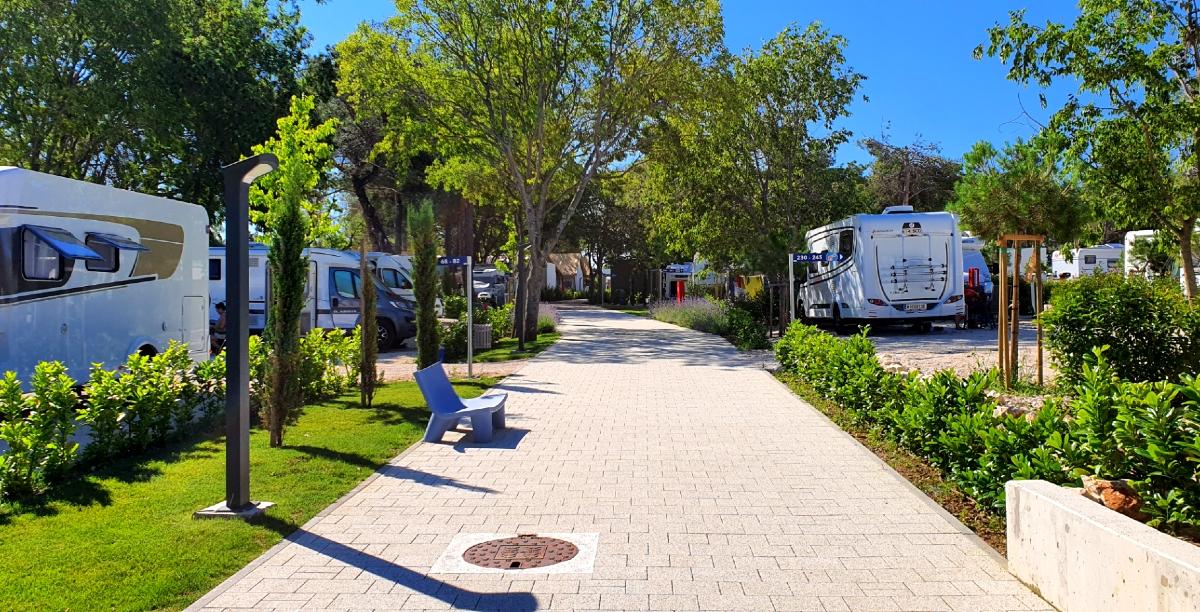 Na zdjęciu Falkensteiner Premium Camping Zadar