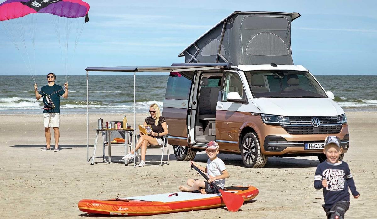 Kultowy kamper Volkswagena - nowe wcielenie