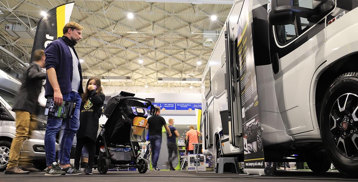 Udane targi Caravans Salon 2020 [FOTO]