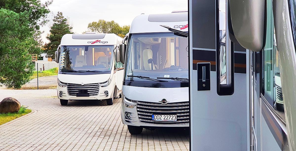 Podczas weekendu przejechaliśmy kilkaset kilometrów zwiedzając firmy zlokalizowane w całej Polsce