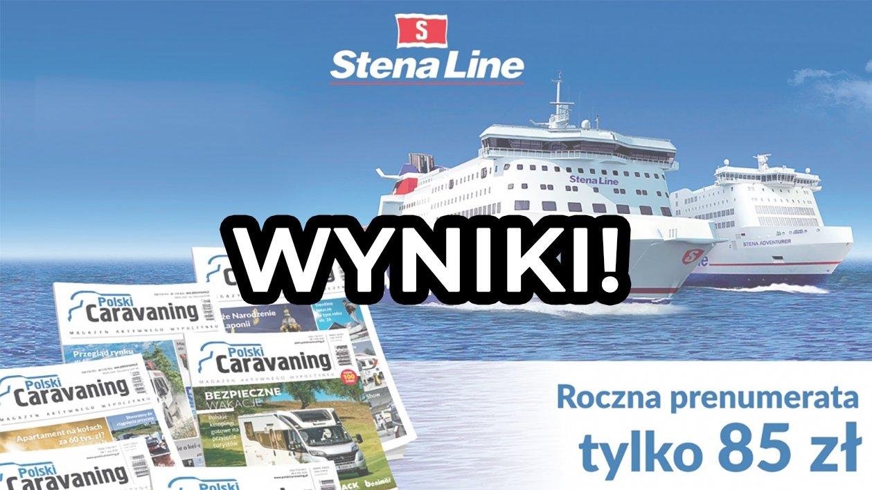 Konkurs ze Steną Line rozstrzygnięty! Pani Katarzyna płynie do Skandynawii