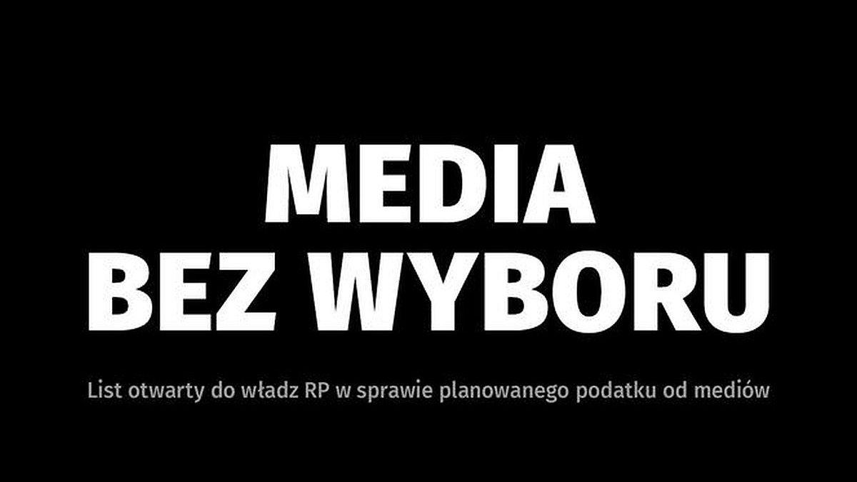 Ogólnopolski protest mediów