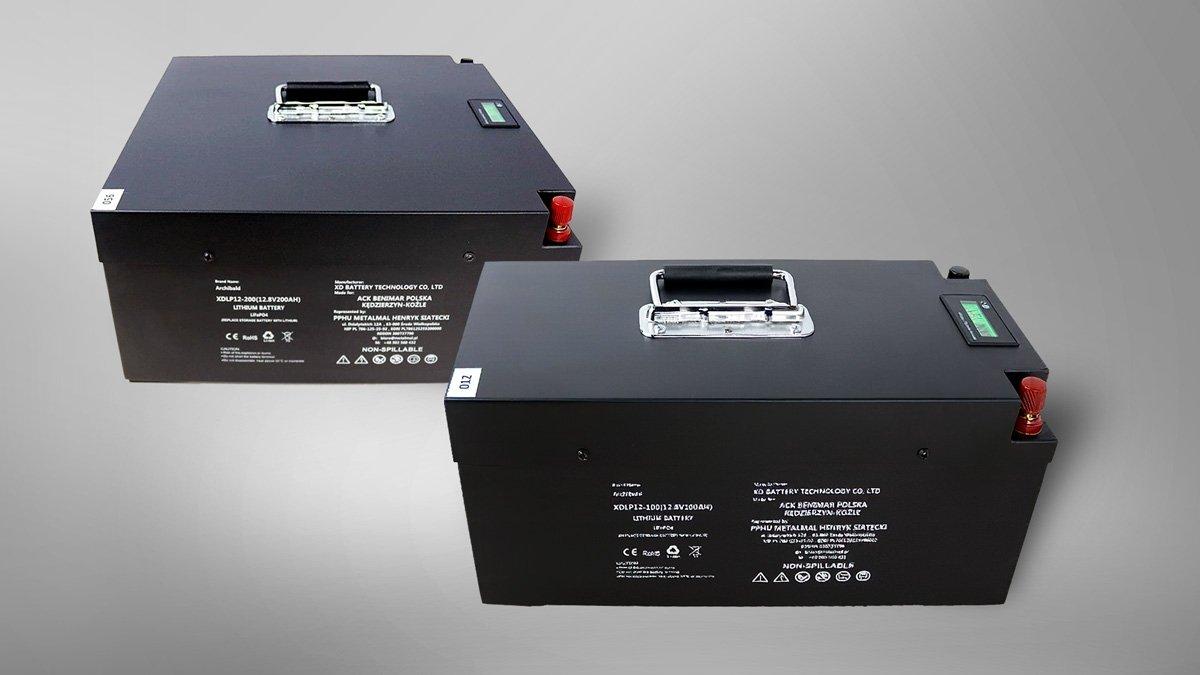 Akumulatory Li-FePO4 w ofercie ACK Benimar