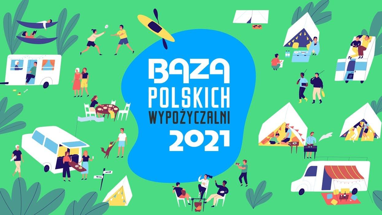 Baza polskich wypożyczalni kamperów i przyczep