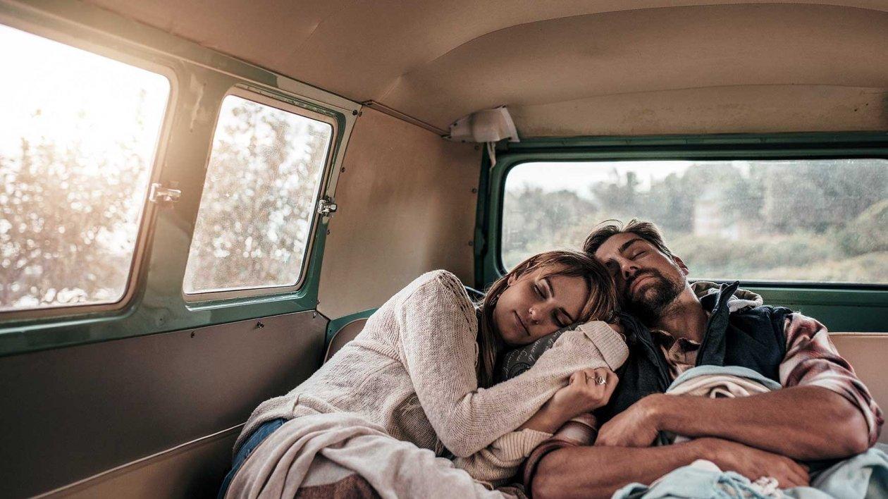 Zdrowy sen w kamperze