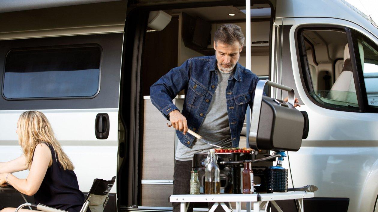 Campingaz z propozycją nowych grilli do kamperów i vanów