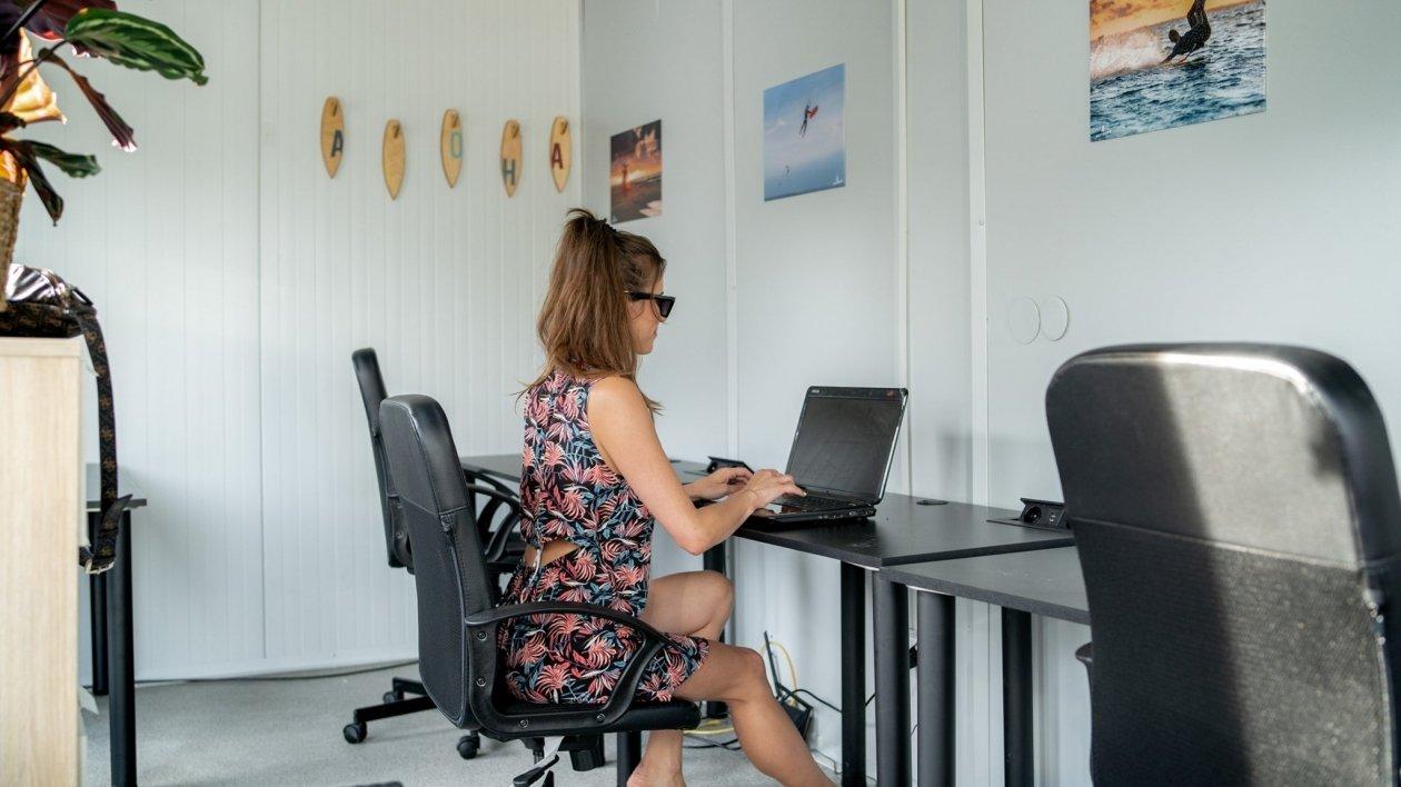 Workation - sposób pracy dopasowany do kempingu