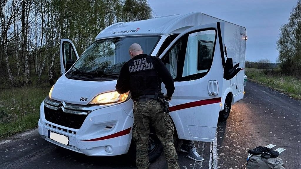Odzyskany kamper o wartości 230 tysięcy złotych [VIDEO]