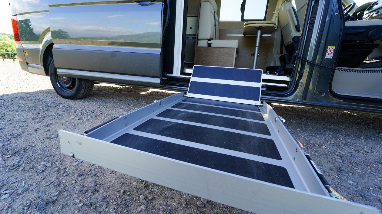 Kamper van przystosowany do osoby niepełnosprawnej [VIDEO]