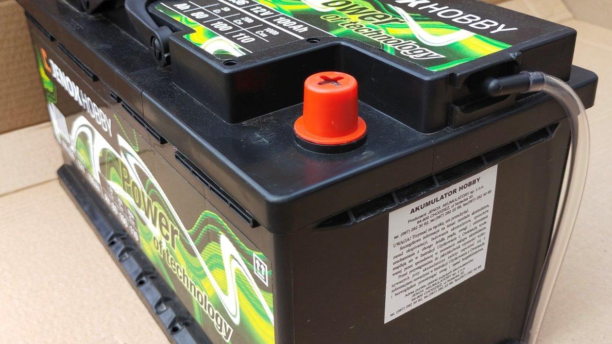 System centralnego odgazowywania akumulatorów