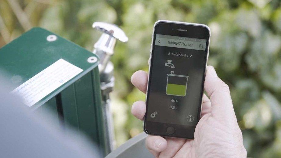 E-Waterlevel – odczyt wody na telefonie