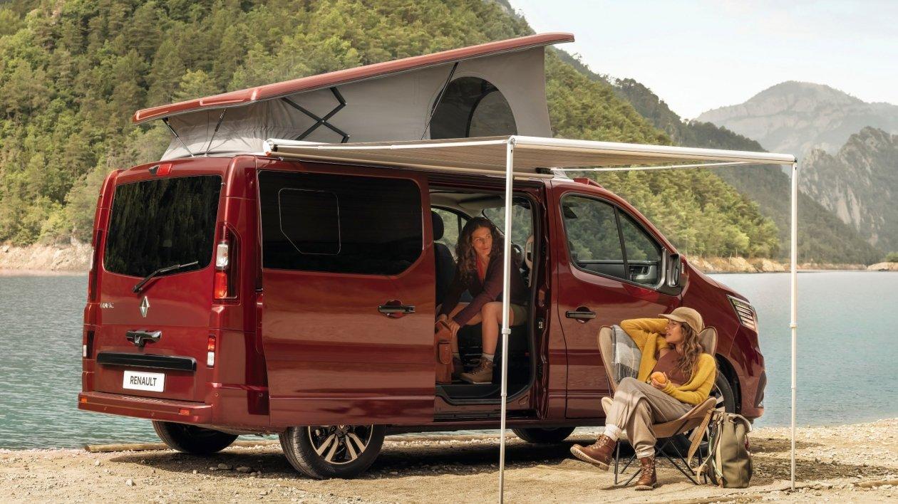 Trafic SpaceNomad wzbogaca gamę kamperów Renault