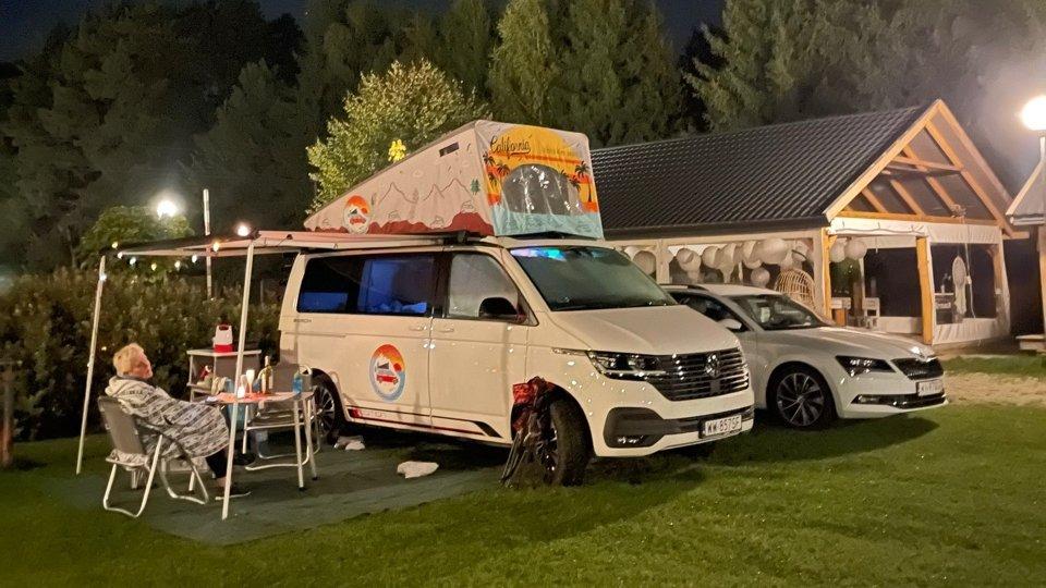 Fani VW California spotkali się w Leonowie
