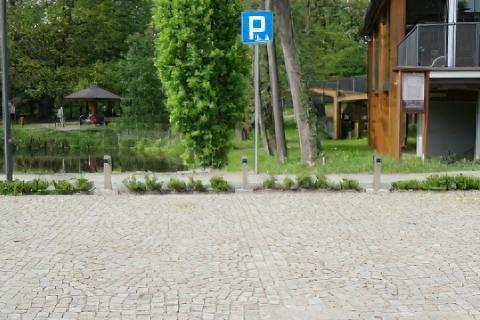 Parking przy Zespole Klasztorno-Pałacowym w Rudach