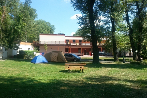 Camping TRAMP Toruń