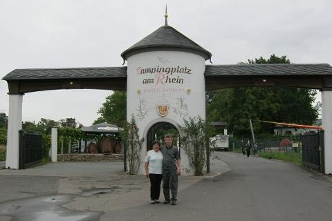Campingplatz  Am Rhein  Rüdesheim