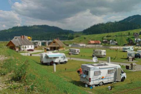 Polana Sosny Camping nr 38