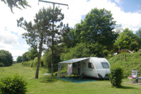Zieleniewo. Camping