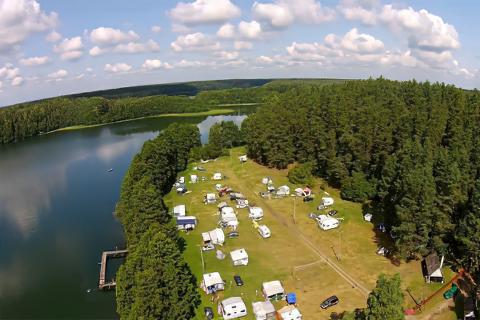 Camping, Pole Namiotowe, Biwakowe Dłużek