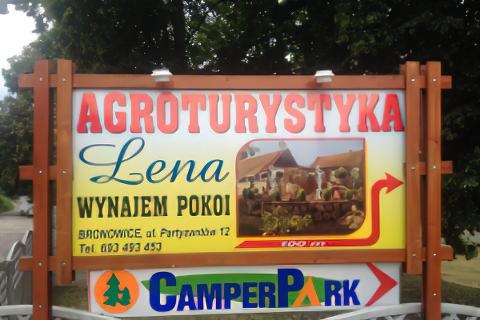 Mużakowska Agroturystyka CamperPark Lena