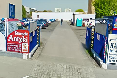 Miejscówka 305 - Łódz - parking