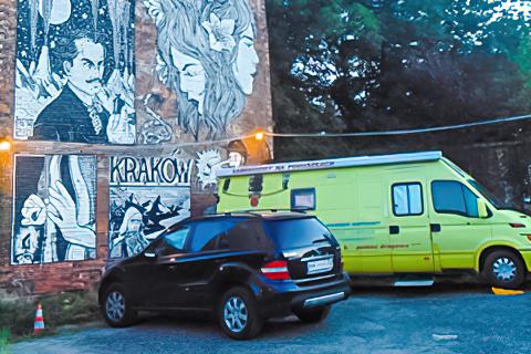 Miejscówka 374 - Kraków - parking