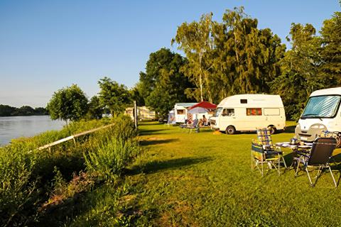 Camping Land an der Elbe Hamburg