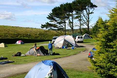 Clifden Campsite & Caravan Park, Shanaheever