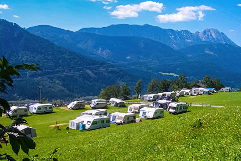 Camping am Bauernhof Bergfriede