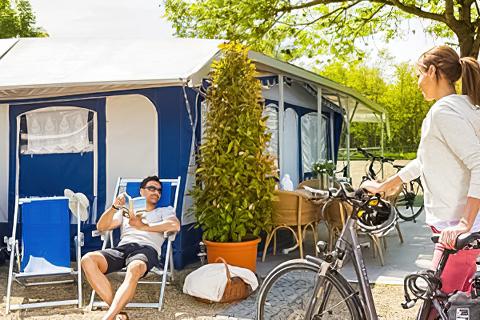 Campingplatz der Parktherme Bad Radkersburg