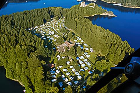 Campingplatz Lichtenfels am Stausee Ottenstein