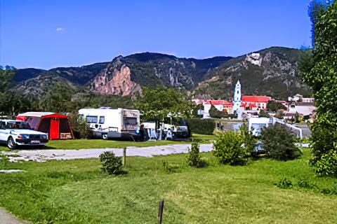 Campingplatz Rossatz
