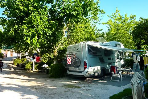 Isthmia Beach Camping