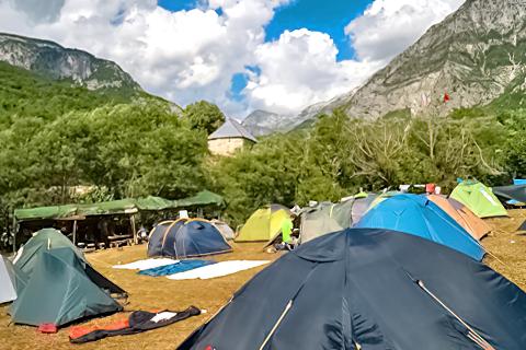 Curraj i Epërm Summer Camping