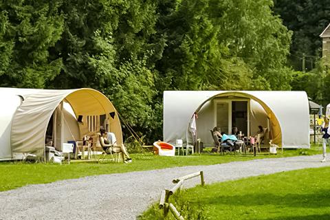 Camping Au Bord de l'Ourthe