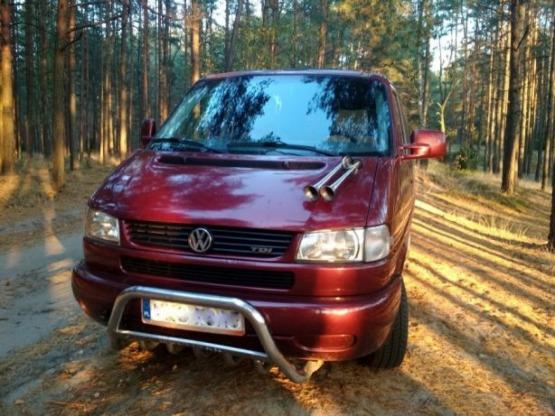 Volkswagen Multivan T4, 2.5 TDi, 98 r., stolik, łóżko