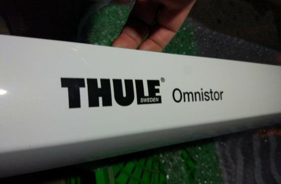 NOWE markizy THULE OMNISTOR, leżaki magazynowe