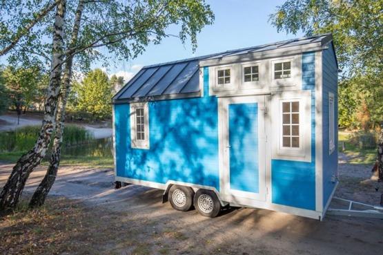 Tiny House - przyczepa całoroczna