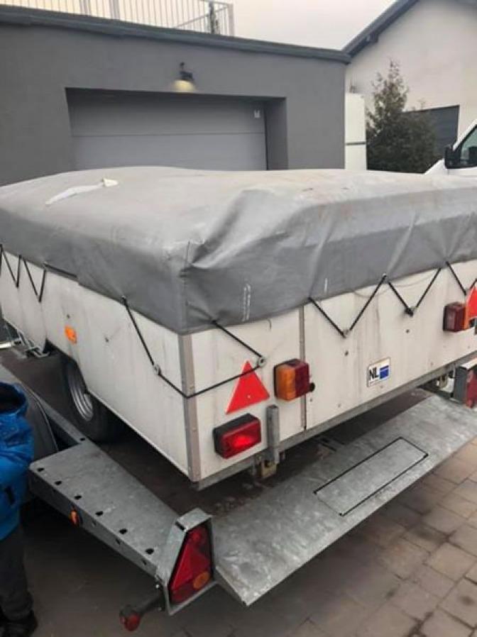 Najnowsze Przyczepa namiotowa CZ51