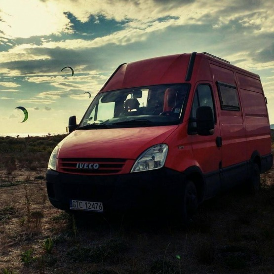 Campervan Iveco Daily