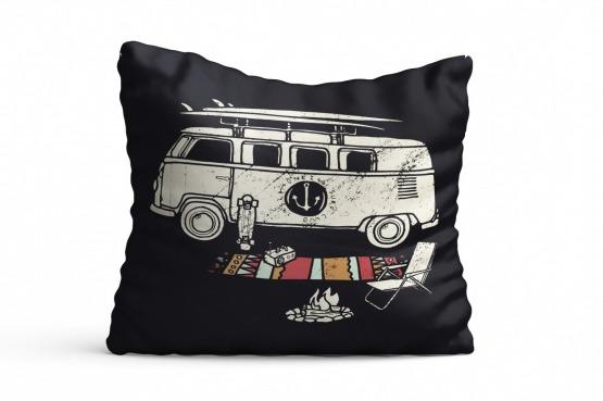 Poduszki z motywem campera wiele wzorów